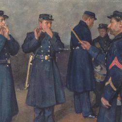 Schilderij_Instructie_Tamboersenpijpers_scaled_Mariniersmuseum